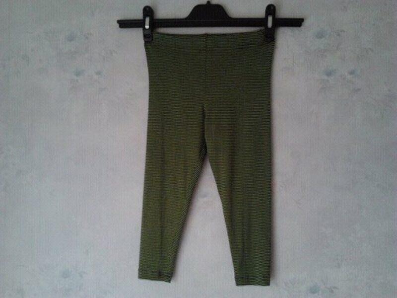 Strīpaini leggingi